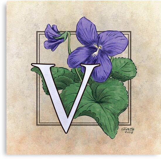 V is for Violet by Stephanie Smith