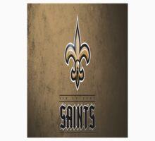 Custom Made Saints Logo Kids Tee