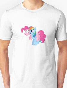 Awestruck Pinkie Pie and Dashie T-Shirt