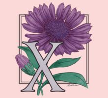 X is for Xeranthemum card Kids Clothes