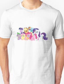 (Most of) The Mane Six are Disgusted T-Shirt