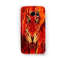 Fiery tiger Samsung Galaxy Case/Skin