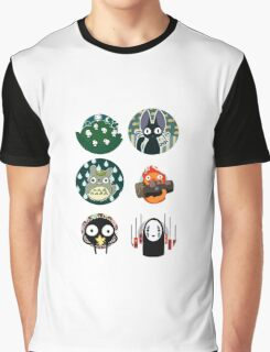 Studio Ghibli 2 Graphic T-Shirt