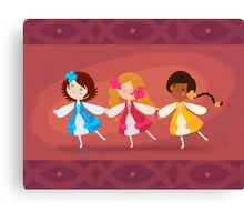 We Three Dance Canvas Print