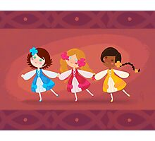 We Three Dance Photographic Print