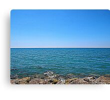 The open sea Canvas Print