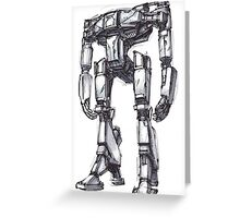 Hyperion Robot Greeting Card