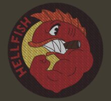 Hellfish Patch by bakru84