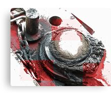 Red Grease Canvas Print