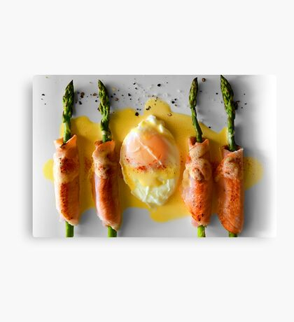 Egg & Bacon Canvas Print