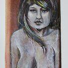 nude on wood. by resonanteye