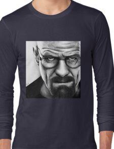 Walter White - Portrait Long Sleeve T-Shirt