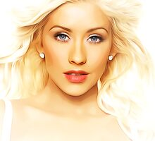 Christina Aguilera - Fighter - Pop Art by wcsmack