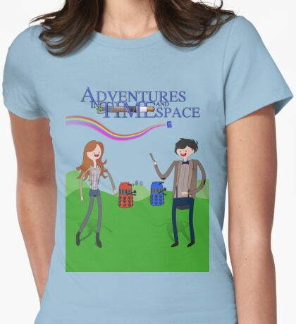 Adventures in Time and Space Womens Fitted T-Shirt