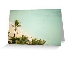 Hawaii Beach Surfer Greeting Card