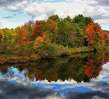 Fall in New England by Rene Rivers