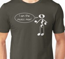 The Music Man - Dark Tees Unisex T-Shirt