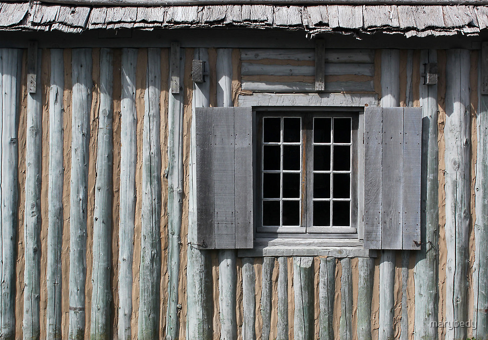 Gray Shutters 1 by marybedy