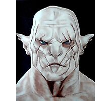 Azog - The Orc from the Hobbit Photographic Print