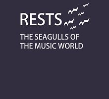 Rests: The Seagulls of the Music World - Dark Tees Unisex T-Shirt