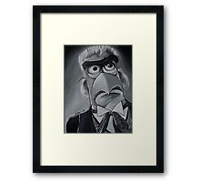 Sam Eagle, First Doctor Framed Print