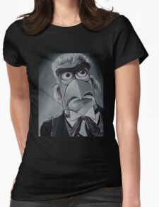 Sam Eagle, First Doctor Womens Fitted T-Shirt