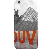 Du Louvre iPhone Case/Skin