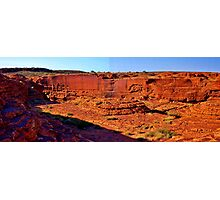 Kings Canyon Australia Photographic Print