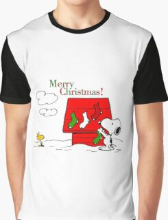 merry christmas snoopy Graphic T-Shirt