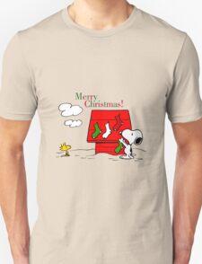 merry christmas snoopy T-Shirt