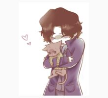 Sherlock and John Cat by ScissorCrazy