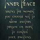 Inner Peace begins... by Zero Dean