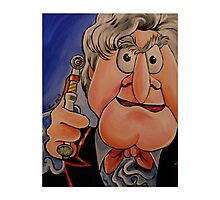 Statler, Third Doctor Photographic Print