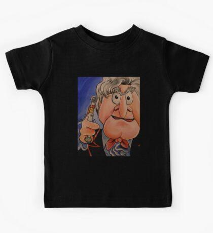 Statler, Third Doctor Kids Tee