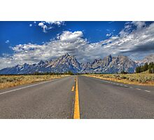 Road to Grand Teton National Park Photographic Print