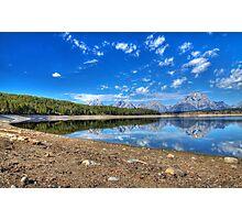 Teton Range Reflection Photographic Print