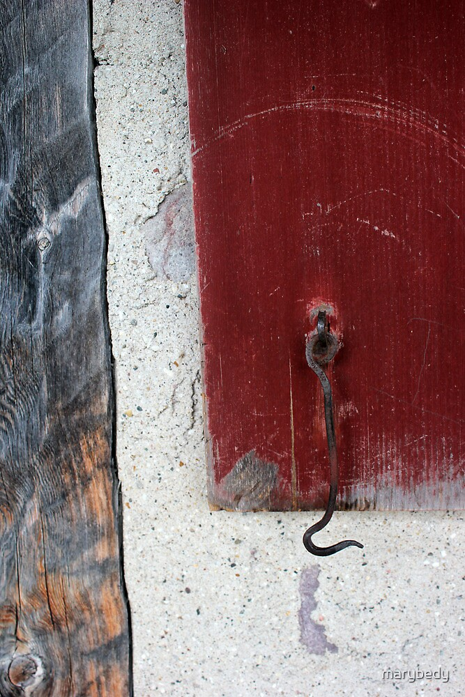 Window Hook Red by marybedy