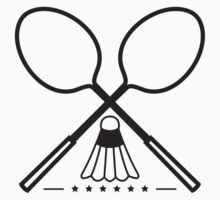 Vector Badminton Sport Design by Style-O-Mat