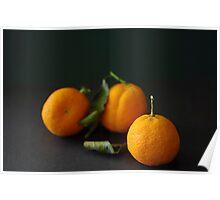 Three Mandarins Poster