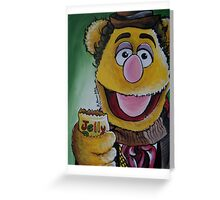 Fozzie, Fourth Doctor Greeting Card
