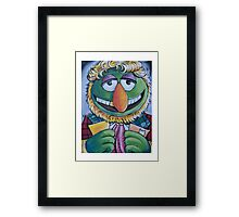 Dr. Teeth, Sixth Doctor Framed Print