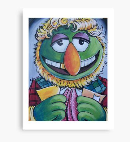 Dr. Teeth, Sixth Doctor Canvas Print