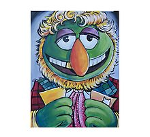 Dr. Teeth, Sixth Doctor Photographic Print