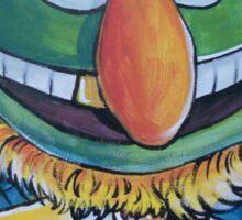Dr. Teeth, Sixth Doctor Sticker