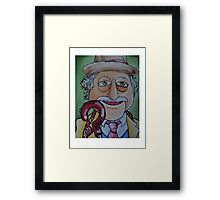 Waldorf, Seventh Doctor Framed Print