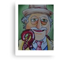 Waldorf, Seventh Doctor Canvas Print