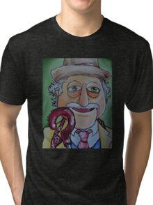 Waldorf, Seventh Doctor Tri-blend T-Shirt