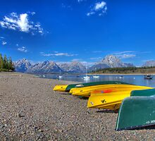 Signal Mountain Marina, Grand Teton National Park by activebeck2012