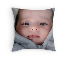 Baby Mariah Throw Pillow