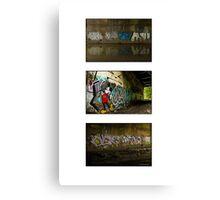 Graffiti Collection Canvas Print